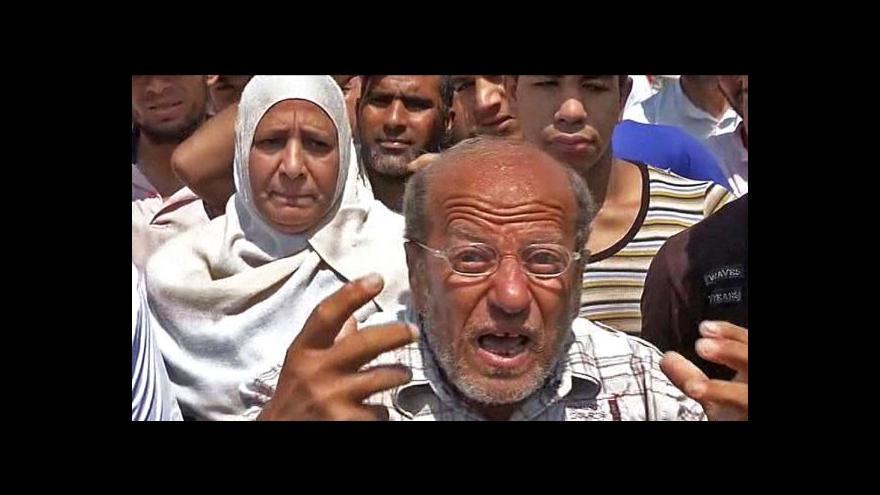 Video V Egyptě pokračují protesty