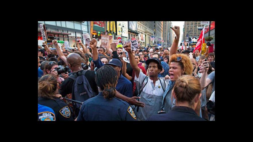 Video Američané protestují proti osvobození Zimmermana
