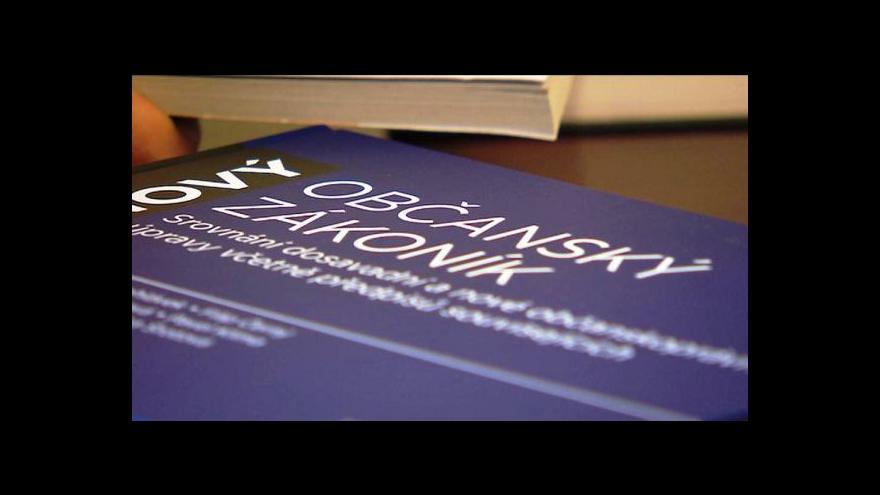 Video Nový občanský zákoník: za zničenou věc plná náhrada