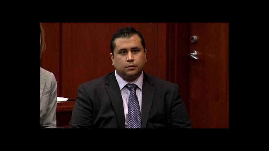 Video Místo doživotí svoboda. Zimmerman byl zproštěn obžaloby