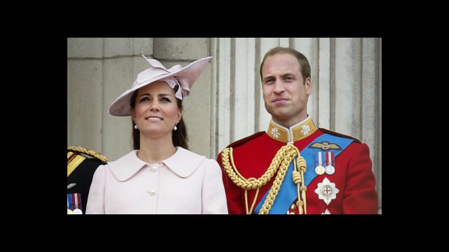 Video Británie očekává narození královského potomka