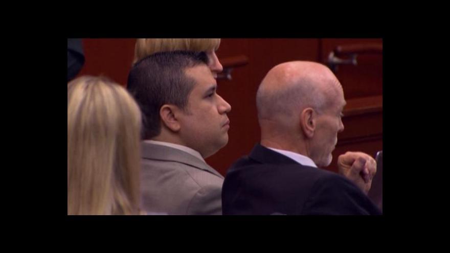 Video Vražda Trayvona Martina u soudu