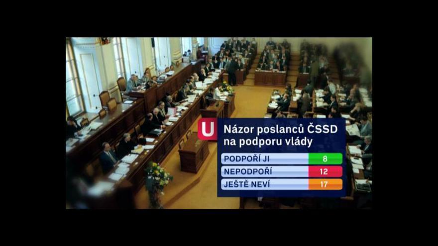 Video Podpora Rusnokovy vlády tématem Událostí