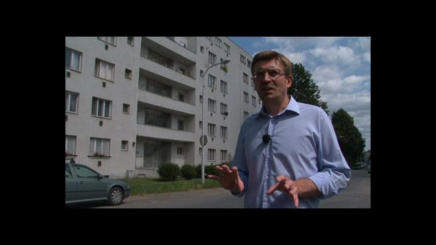 Video Zakladatel projektu Rostislav Koryčánek o Souboru nájemních domů