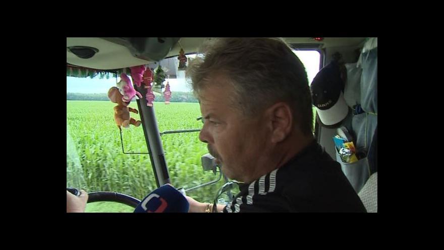 Video Štefan Spišiak o přepravě zemědělské techniky