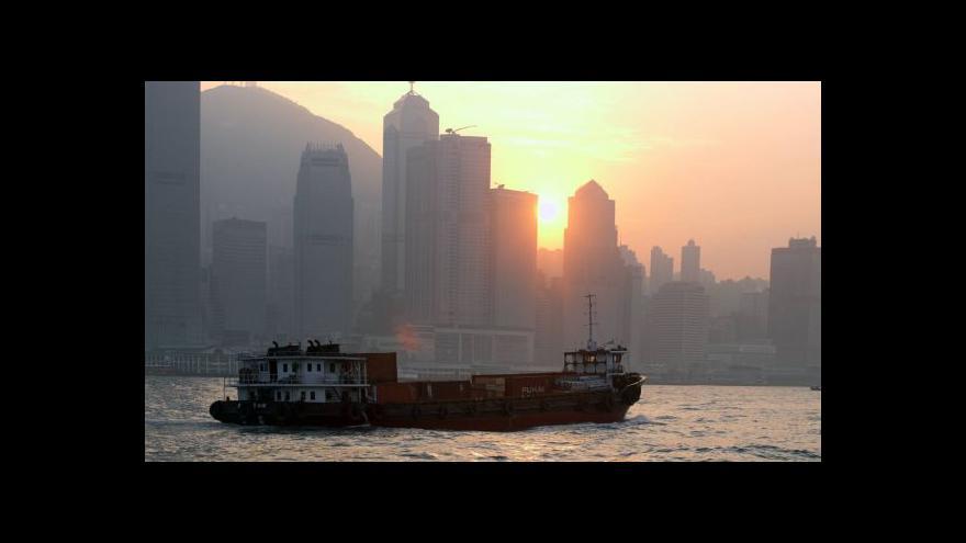 Video Propad čínské ekonomiky