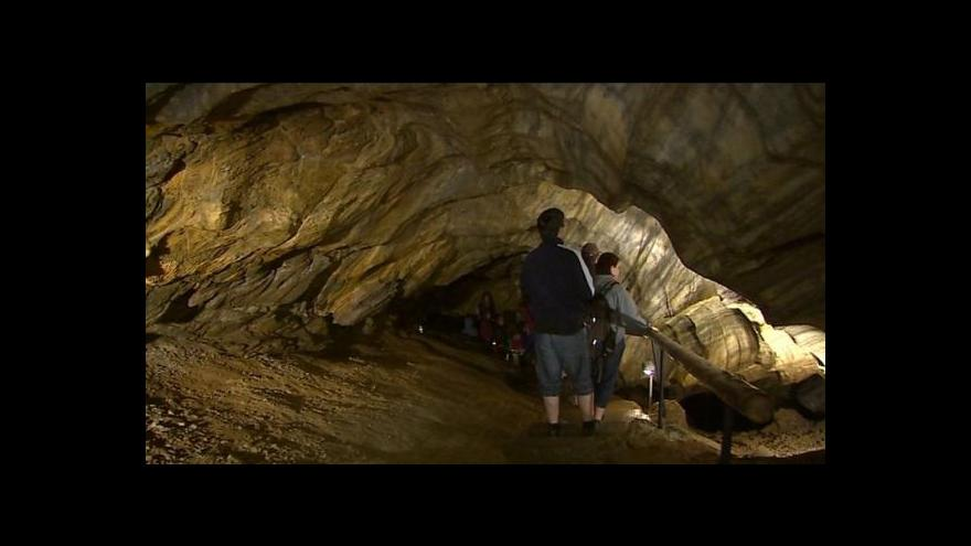 Video Kristina Vrkočová o Chýnovské jeskyni
