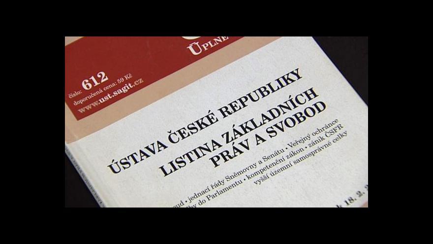 """Video Ústavní právník Marek Antoš k pojmu """"ústavní zvyklosti"""""""