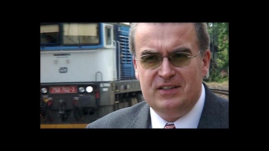 Video Premiér uvádí do úřadu ministra dopravy