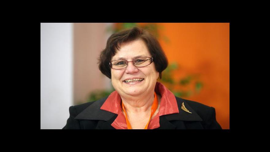Video Ministryně spravedlnosti se ujímá úřadu