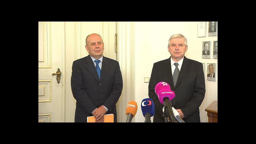 Video Premiér Jiří Rusnok uvádí do úřadu ministra školství