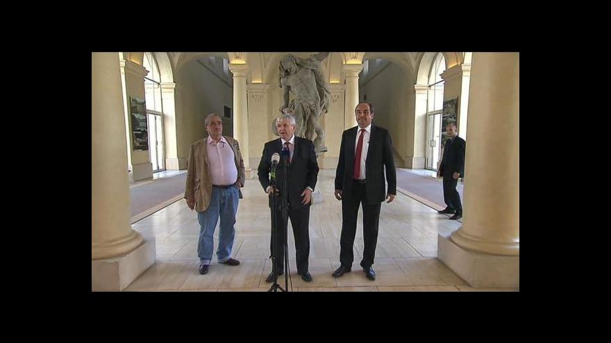 Video Uvedení Jana Kohouta do úřadu