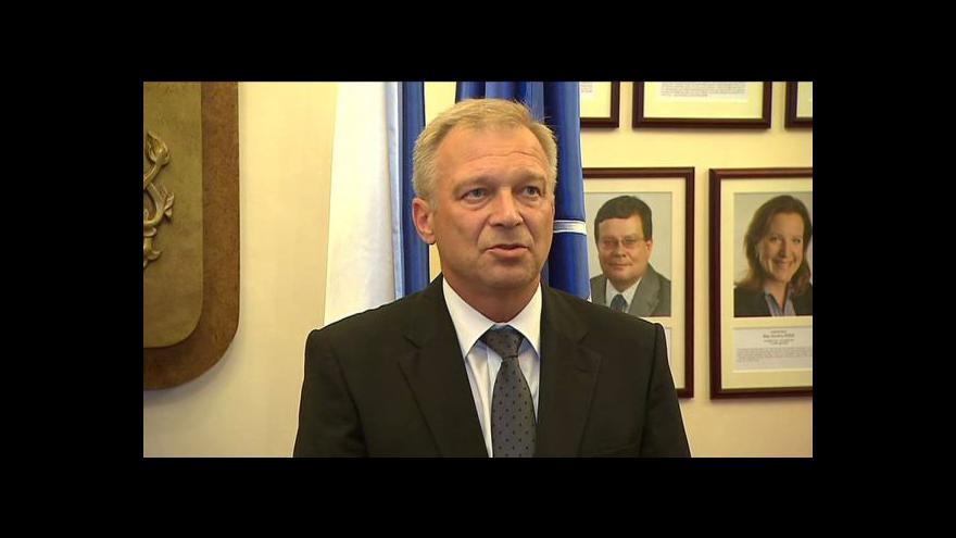 Video Uvedení Vlastimila Picka do úřadu