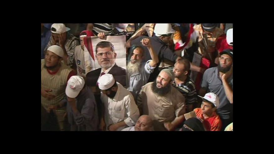 Video Napjatá situace v Egyptě trvá