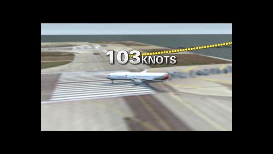 Video Nehodu boeingu způsobila nízká rychlost