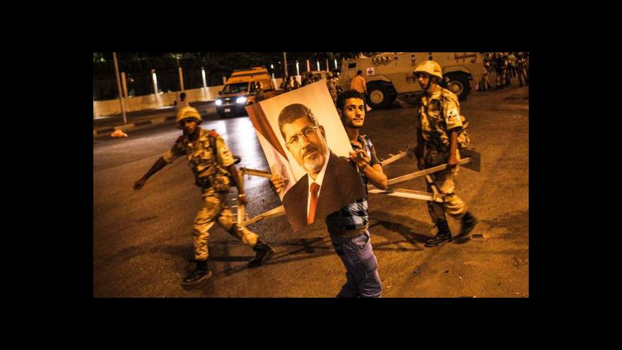 Video Telefonát Jakuba Szántó o situaci v Egyptě
