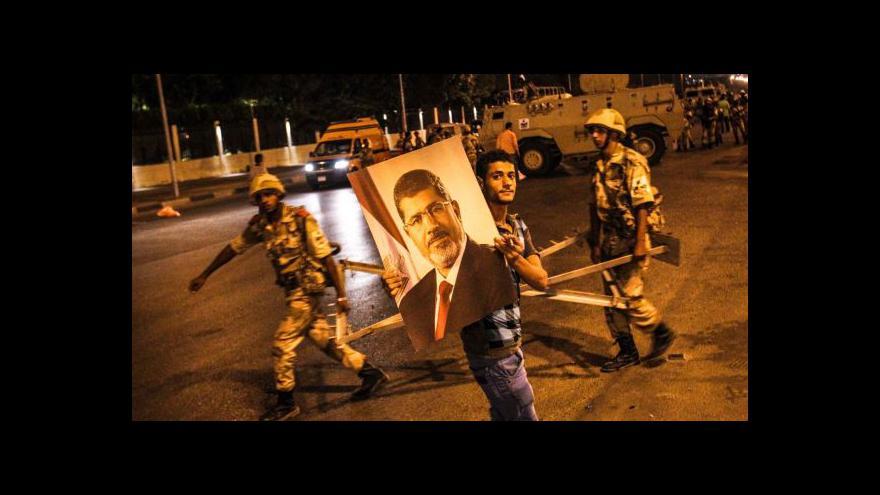 Video V Egyptě se znovu střetli Mursího příznivci a odpůrci