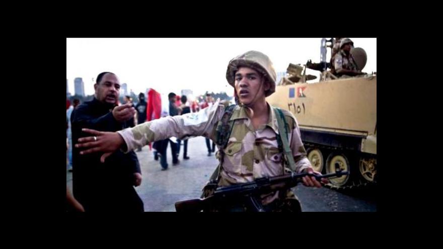 Video Jakub Szántó o situaci v Egyptě