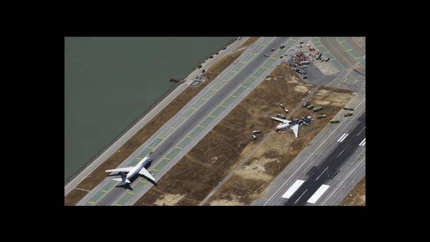 Video Při letecké havárii se zranilo víc než 180 lidí