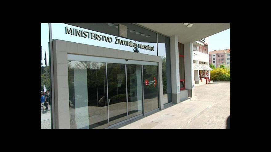 Video Reportáž o ministrovi životního prostředí