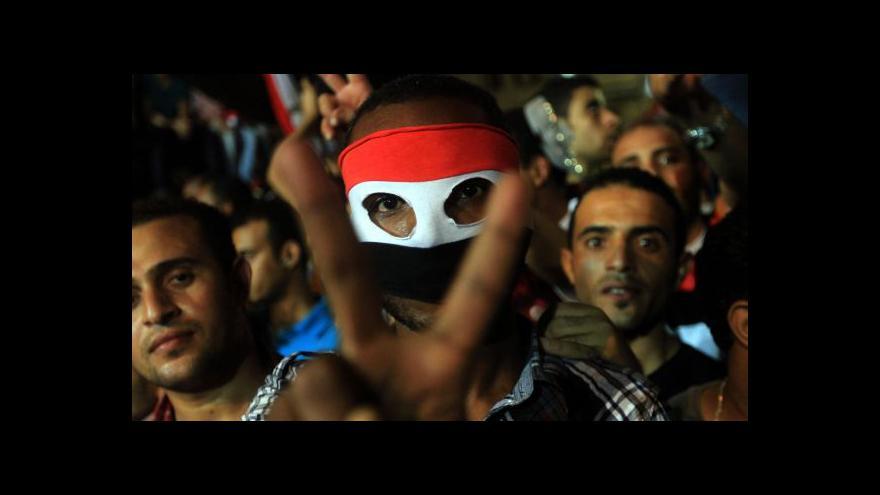 Video Události: V Egyptě se při protestech opět umíralo