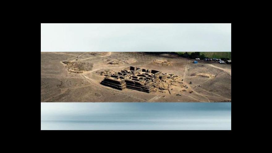 Video Peruánská pyramida zmizela pod bagry
