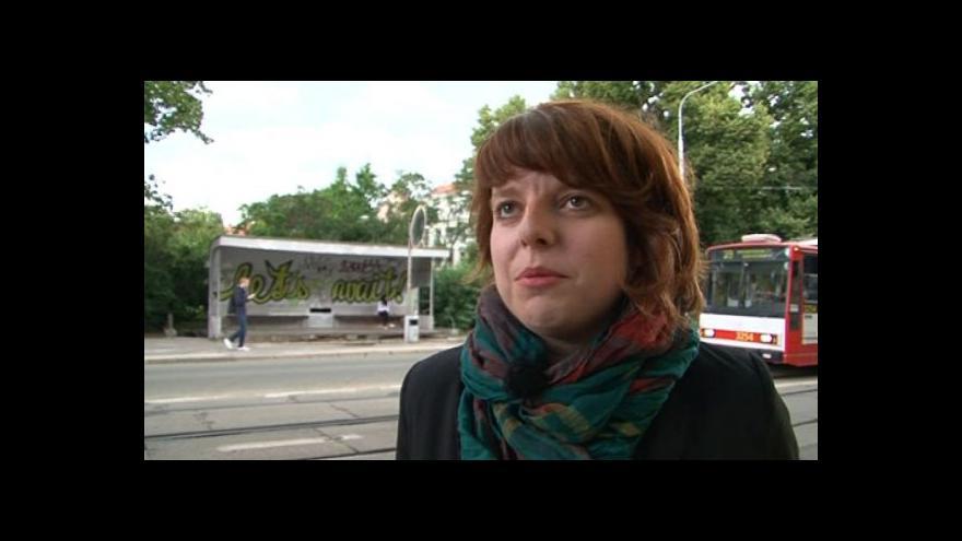 Video Spoluautorka BAMu Lucie Valdhansová o čekárně