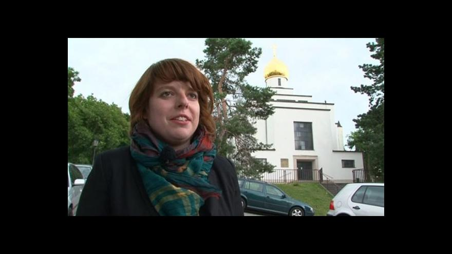Video Spoluautorka BAMu Lucie Valdhansová o chrámu v Gorazdově ulici
