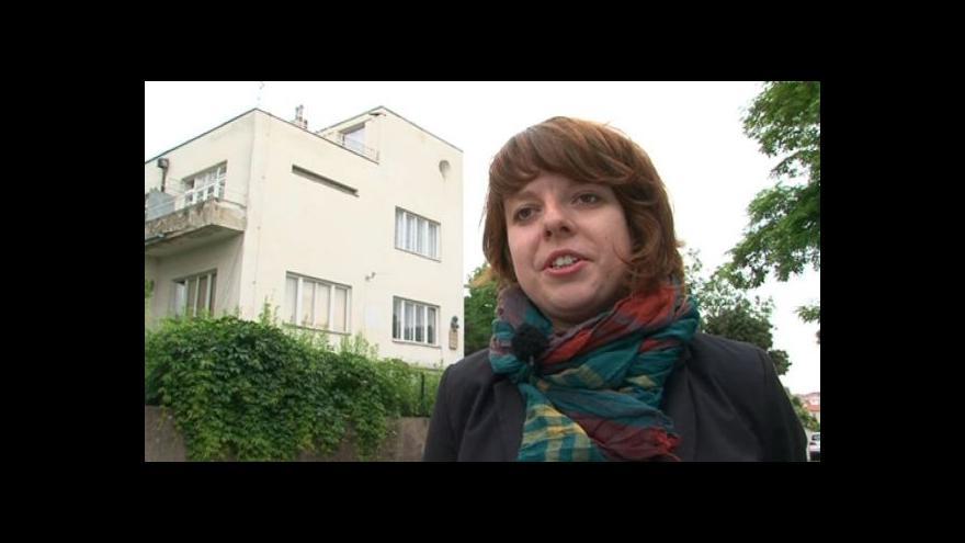 Video Spoluautorka BAMu Lucie Valdhansová o vile Karla Tomeše