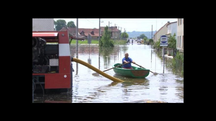 Video Petra Tachecí o povodňových škodách v Ústeckém kraji