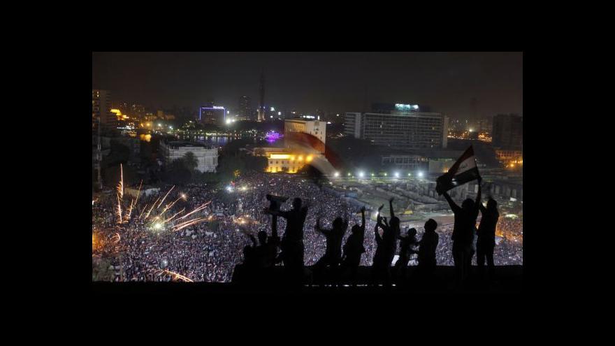 Video Ohlasy Spojených států na události v Egyptě