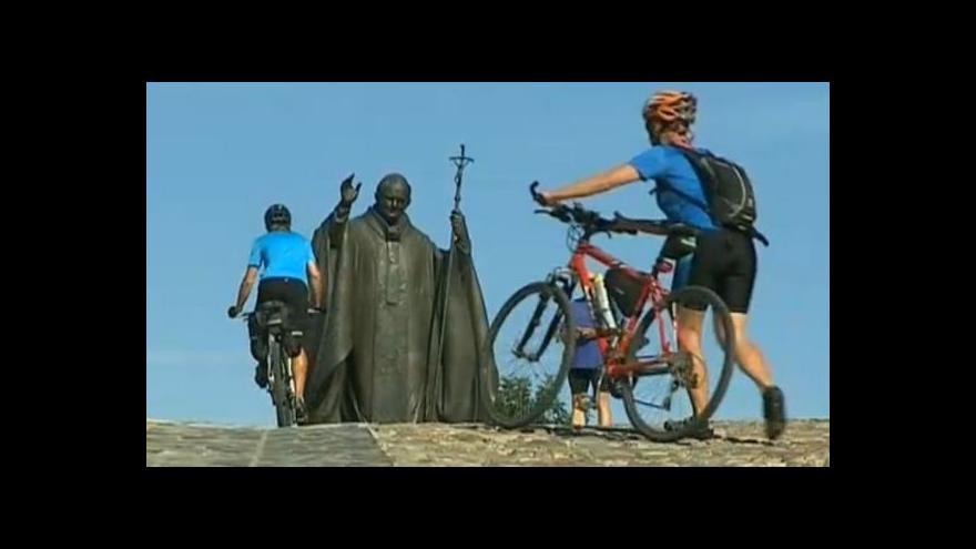 Video Rozhovor Josefa Kvasničky s cyklisty