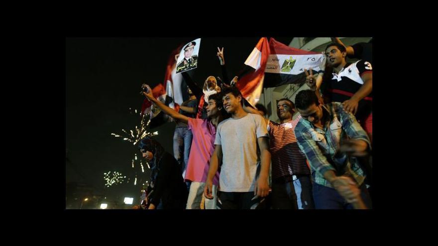 Video Odpůrci Mursího oslavují jeho odchod
