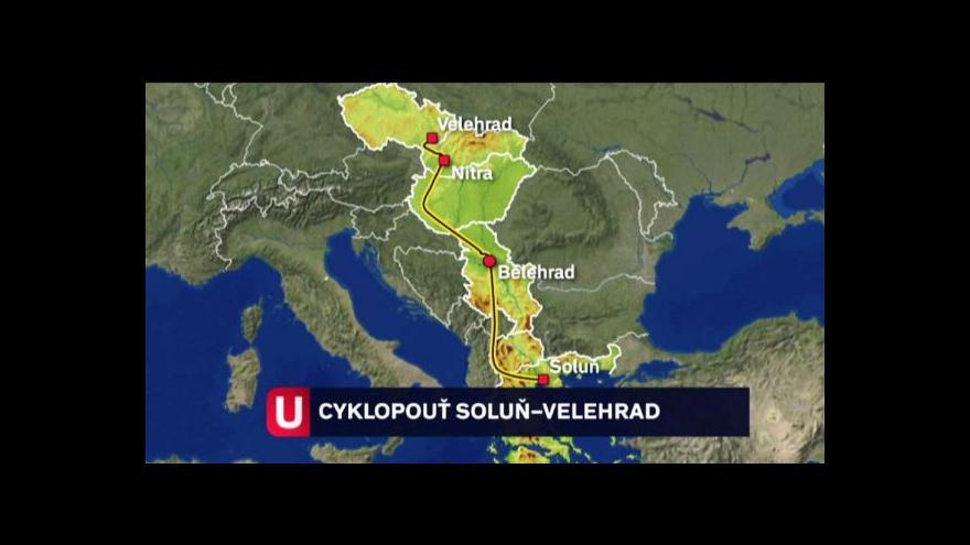 Video Cyklopoutníci už jsou na Moravě