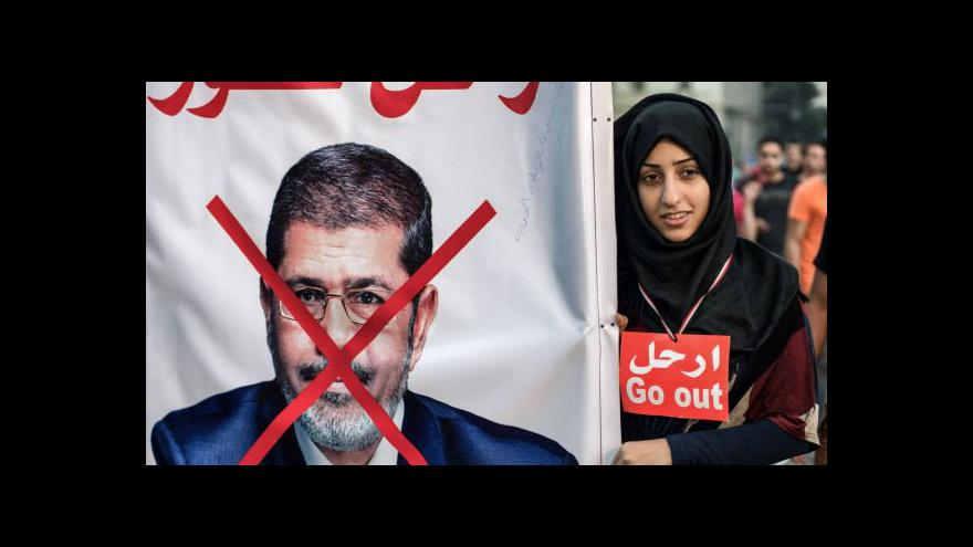 Video Egypt na hraně převratu