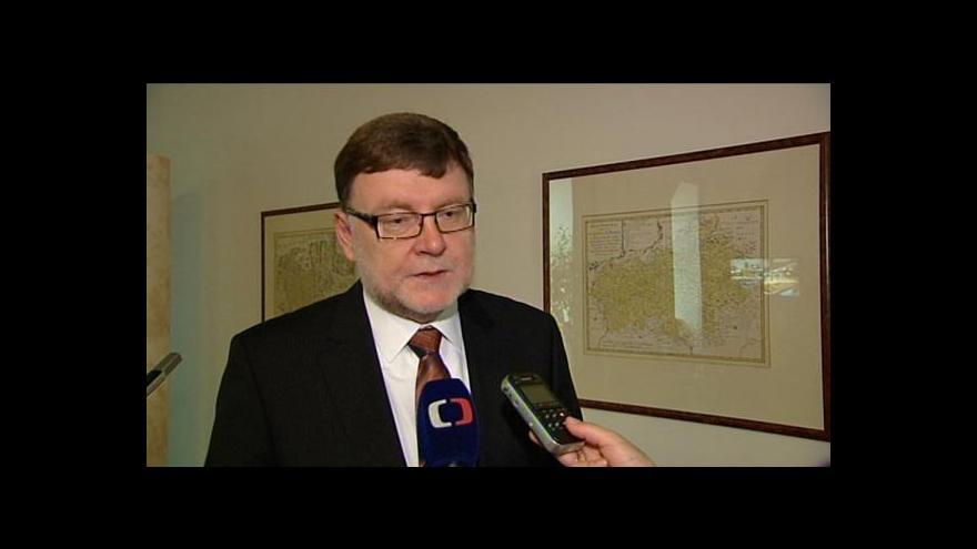 Video Zbyněk Stanjura o registračních značkách