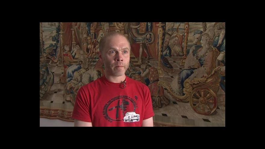 Video O zmizelé tapiserii hovoří kastelán Michal Tlusták