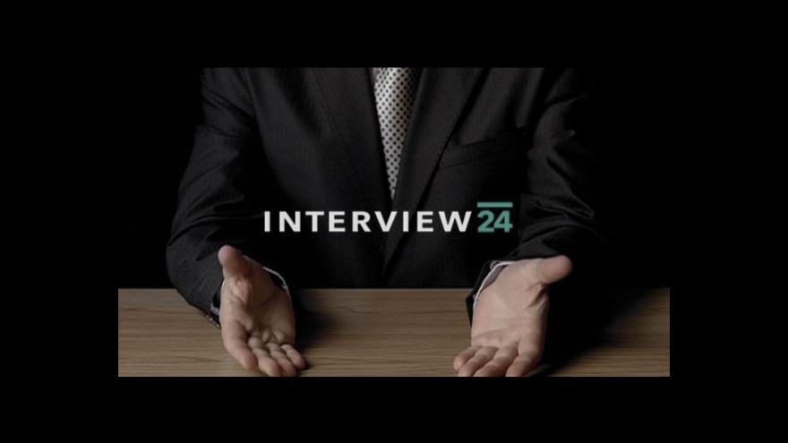 Video Přemysl Sobotka v Interview ČT24