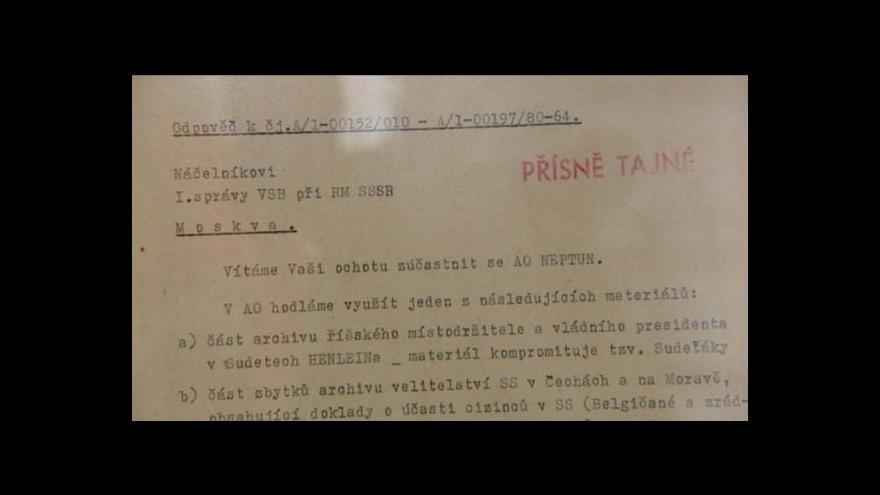 Video Zdeněk Mlnařík o výstavě k akci Neptun