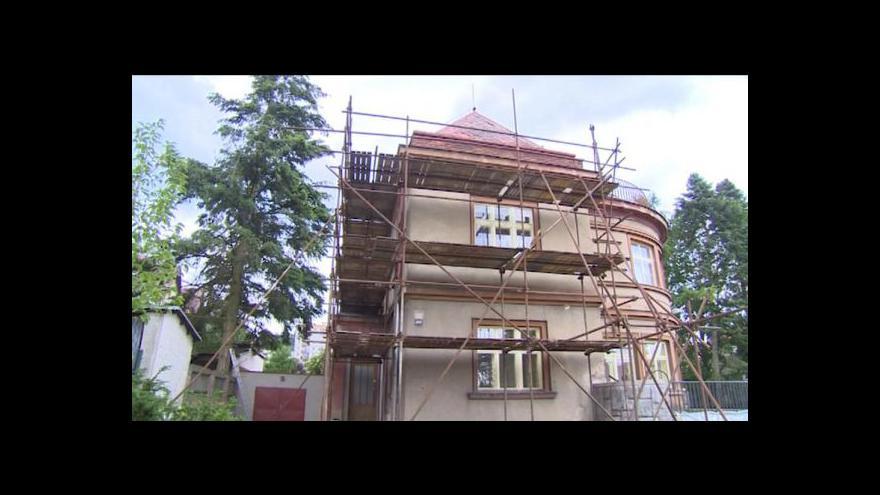 Video Lucie Pokorná o rekonstrukci Schneiderovy vily