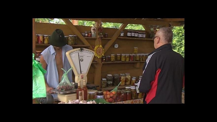Video Prodejce ze Znojma o zájmu o české ovoce a zeleninu