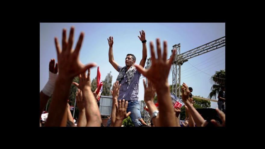 Video Mursí nabídl dialog se všemi stranami