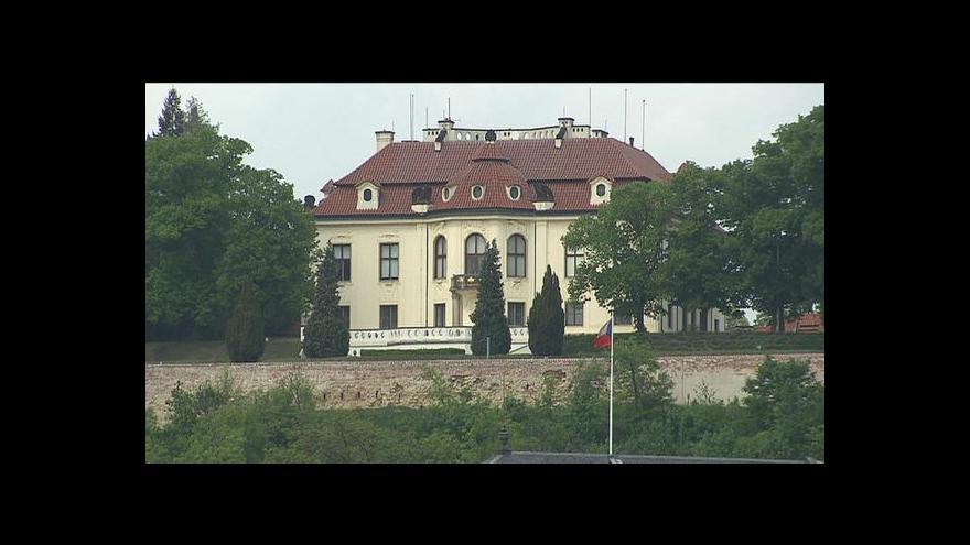 Video Rusnok pokračuje v jednání s ministerskými kandidáty