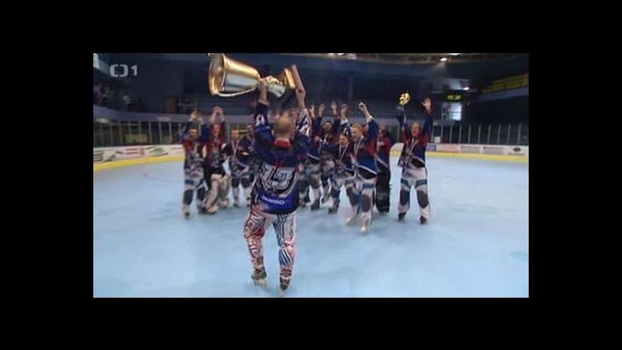 Video Mistry republiky v inline hokeji se stali Mission Roller z Brna