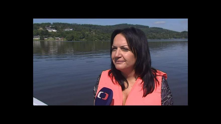 Video Hovoří mluvčí Povodí Moravy Gabriela Tomíčková