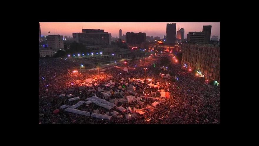Video Egypt zažil bouřlivou neděli