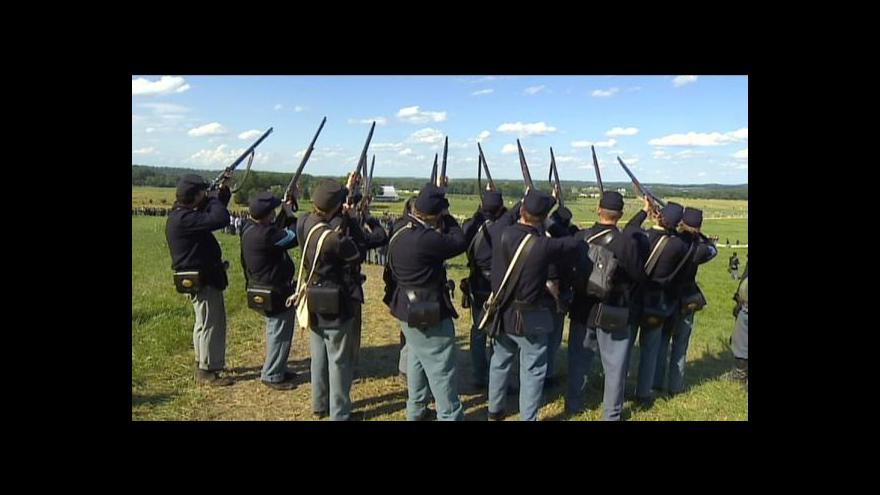 Video Rekonstrukce bitvy u Gettysburgu