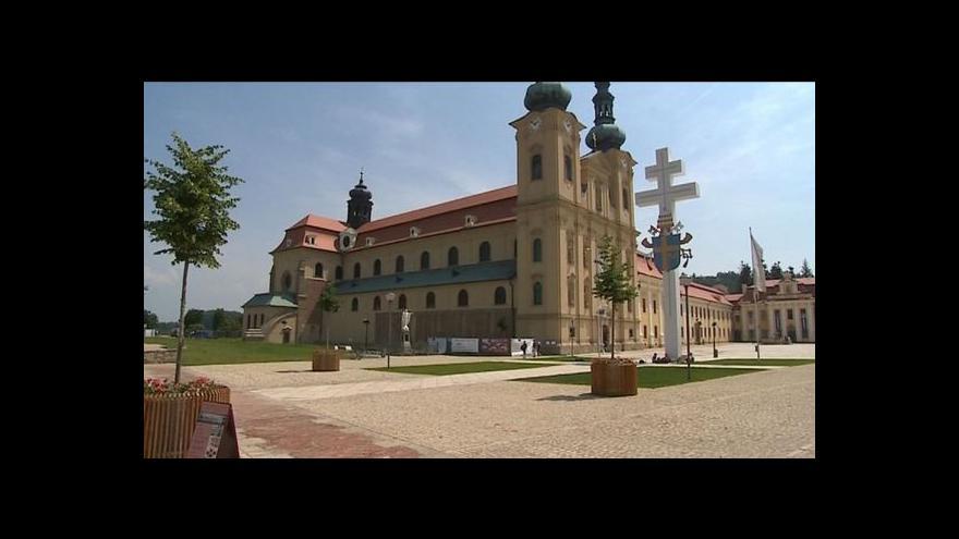 Video Tajemství velehradské baziliky