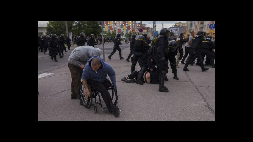 Video Nepokoje v Českých Budějovicích tématem Událostí