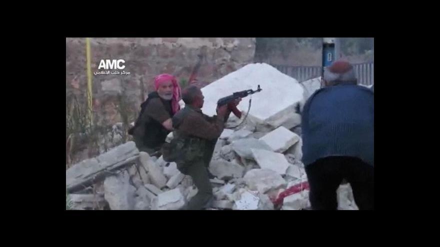 Video Syrská armáda zaútočila na Homs